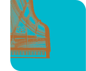 Raritäten der Klaviermusik. Logo med tekst