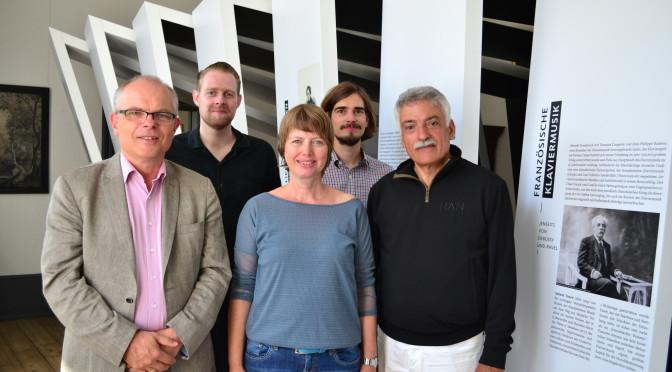von links nach rechts: Wolfgang Rathert, Tobias Grill, Johanna Jürgensen, Daniel Finke, Peter Froundjian